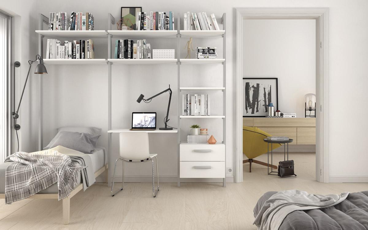 Estantería modular - Dormitorio