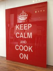 Cartel Keep calm and cook on