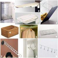 Ideas para  organizar el cuarto de lavado y planchado