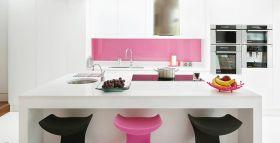 cocinas-blancas-rosas