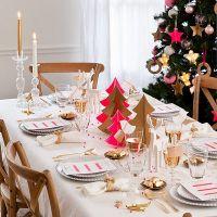 5 decoraciones originales para tu mesa de Navidad