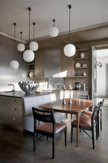 cocina-acero-inoxidable-madera
