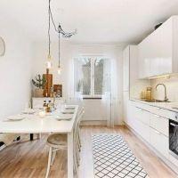 Inspiración: piso con cocina semi-abierta