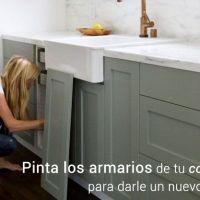 Paso a paso para pintar los armarios de tu cocina