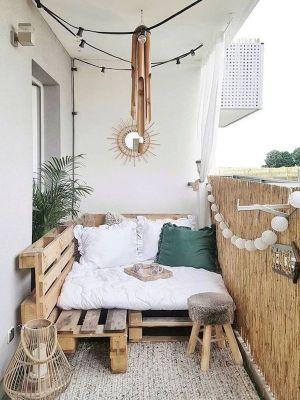 Un rincón de relax en tu balcón