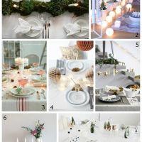 Inspiración: las 7 mesas de Navidad más bonitas