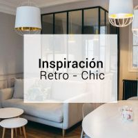 Inspiración: decoración retro-chic en un piso parisino