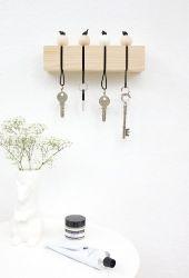 diy-porta-llaves-madera