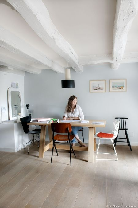 reforma casa pescadores escritorio