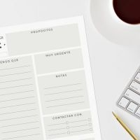 7 planificadores descargables para ayudarte en tu día a día