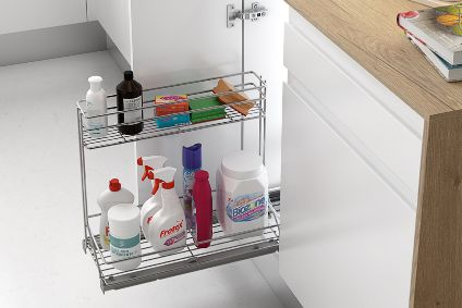 Productos específicos para optimizar el espacio de tu armario de fregadero