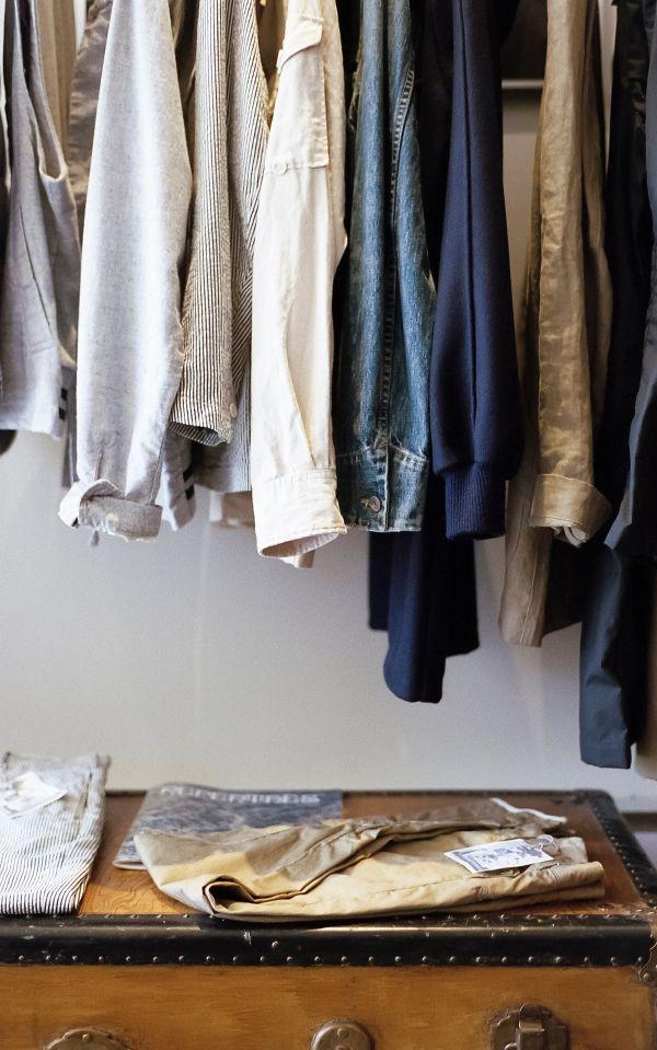 ordenar ropa armario