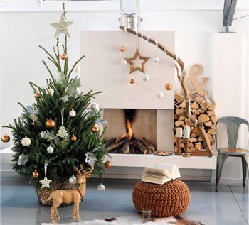 Árbol de Navidad estilo natural