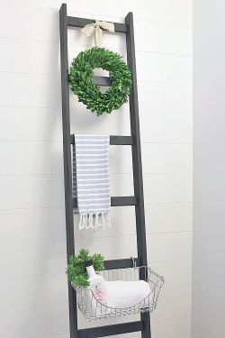 diy-escalera-madera-baño