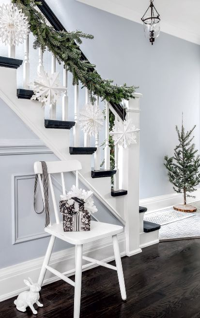 decoracion-escaleras-navidad