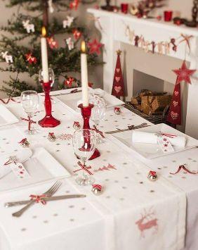 decoracion-navidad-mesa-roja