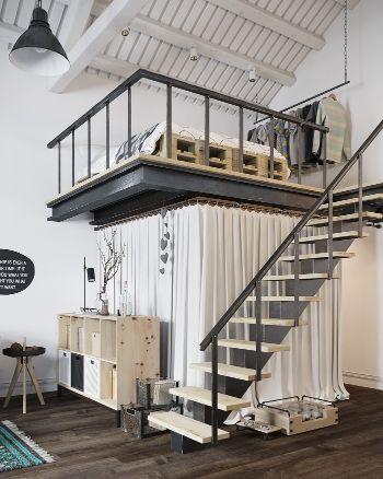Loft con vestidor