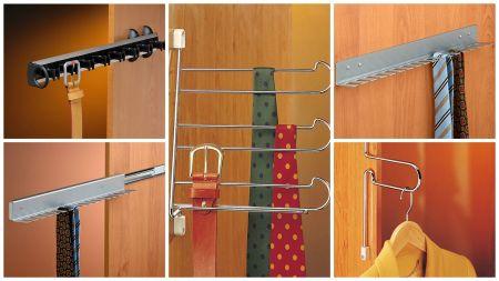 Colgadores para vestidor