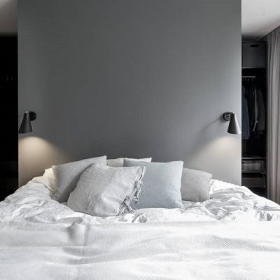 Inspiración para casa ¿Instalamos el vestidor tras el cabecero de la cama?