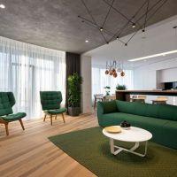 Inspiración ucraniana: Una apartamento muy funcional