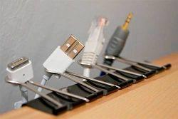 clips para cables