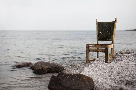 silla colgador DIY