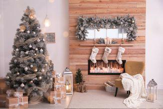 Un árbol de Navidad acorde a tu salón