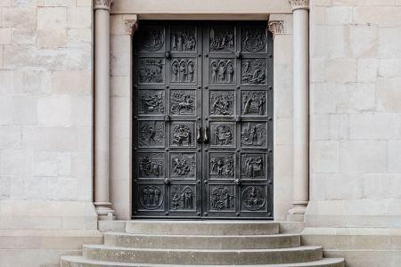 puerta antigua de los romanos o así