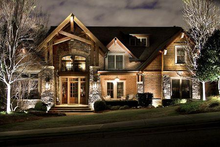 Casa iluminada