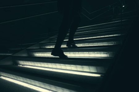 tiras led para escaleras