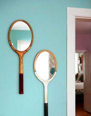 Bricolaje con raquetas viejas