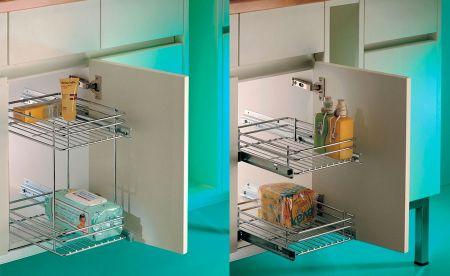 organizar los armarios del baño