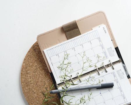 oranizar las tareas en la semana