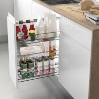Despensero reversible extraíble para mueble de cocina