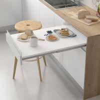 Mesa extraíble de cocina