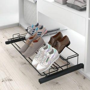 Almacenaje de zapatos extraíble
