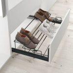 Zapatero para instalar dentro de un armario vestidor y guardar los zapatos de manera visible y ordenada