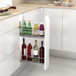Botellero de rejilla para mueble de cocina
