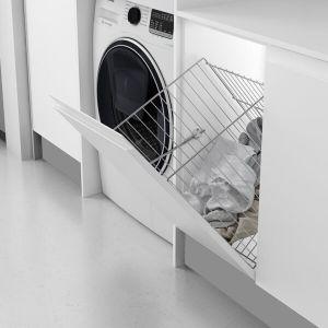 Cesto de ropa sucia abatible para armario