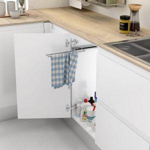 Soporte extraíble para trapos de cocina