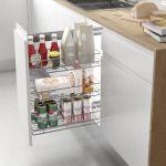 Despensero extraíble para ordenar cocina moderna