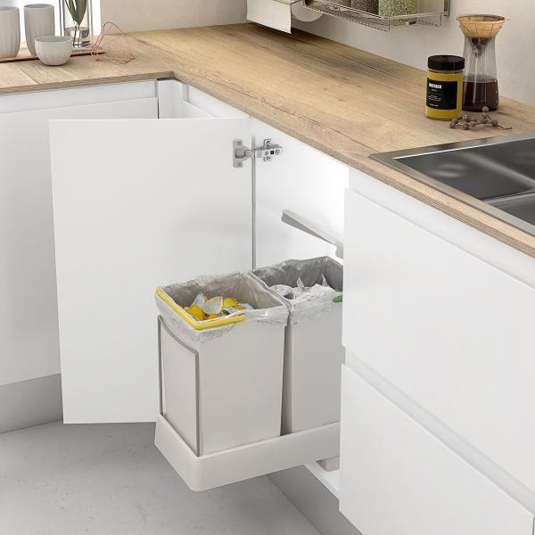 Cubo De Reciclaje Extraíble Para Mueble De Cocina Casaenorden