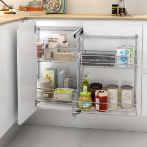Esquinero extraíble para mueble de cocina moderna y funcional