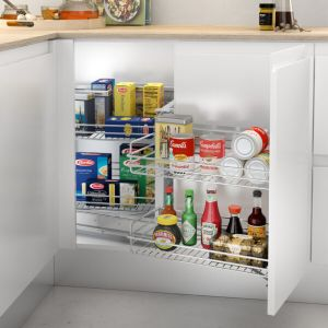 Accesorio rinconero extraíble para mueble de cocina