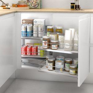 Esquinero de melamina para mueble de cocina
