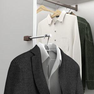 Soporte plegable de armario