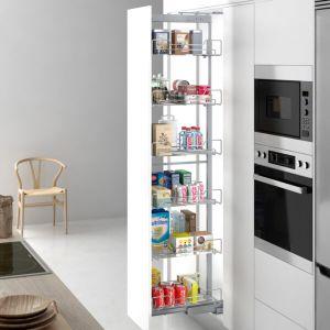 Columna extraíble para almacenar comida en despensa