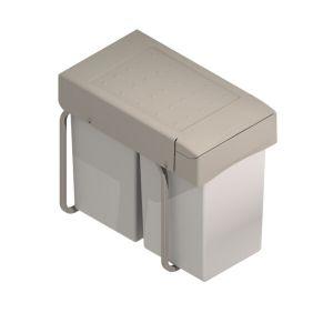 Cubo de basura extraíble con contenedor