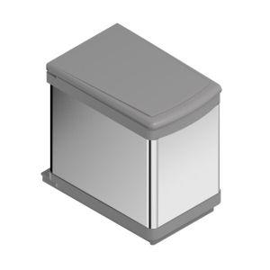 Cubo de basura extraíble basal inox