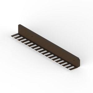Soporte extraíble metálico para corbatas y cinturones